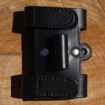 TBS Leather Black Firesteel Holder Attachment for the TBS Sheath